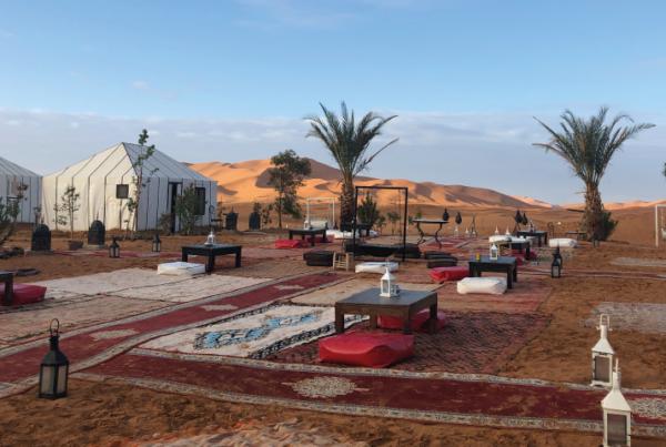 Dormir desierto Sahara